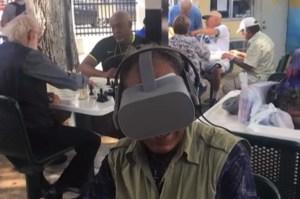 En Video: La realidad virtual, una aventura que llega a los adultos mayores