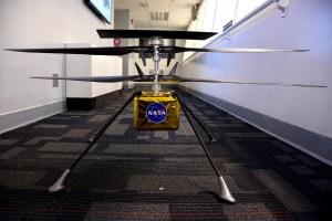 MHS, el helicóptero con el que Nasa quiere sobrevolar Marte por primera vez