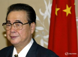 Murió el ex primer ministro chino Li Peng