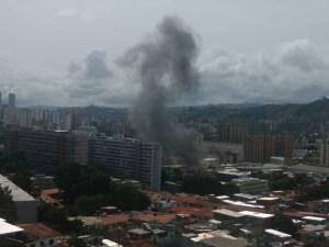 Reportan explosión en subestación de la parroquia San Juan en Caracas #23Jul (fotos)