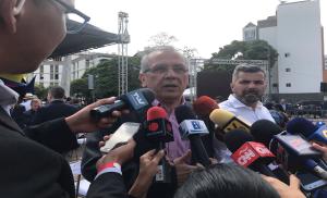 Ex ministro de Chávez se une a la sesión de calle de la Asamblea Nacional #23Jul (VIDEO)