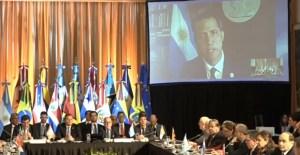 Fallas eléctricas en Caracas interrumpe videoconferencia de Guaidó ante Grupo de Lima (video)