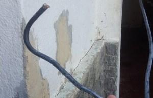 Vecinos de La Campiña denuncia robo de cableado durante el mega apagón rojo #23Jul