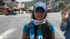 Verónica Meza: Los merideños sufrimos hoy el embate de la escasez de médicos