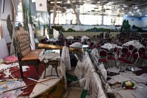 El Estado Islámico se adjudica atentado que dejó 63 muertos en un salón de bodas de Kabul