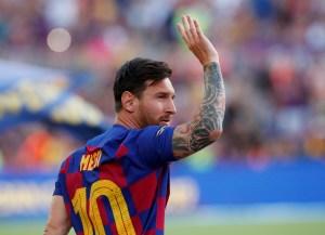 Messi se perderá el debut en la liga ante Athletic Bilbao