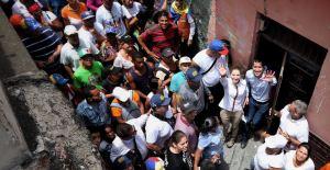 Fabiana Rosales desde Vargas: No nos detendrán en la urgencia de nuestra nación (Fotos)