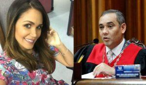 ¿Debora Menicucci, esposa de Maikel Moreno, huyó de Venezuela tras ser botada de Televen?
