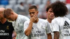 Malas noticias para el Real Madrid: Eden Hazard se pierde el debut liguero por lesión