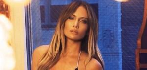 """""""Sudadita"""" y en leggings así luce Jennifer Lopez en el gym"""