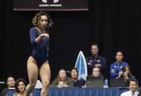 La gimnasta que enamoró al mundo volvió a sorprender con una performance extraordinaria que se volvió viral