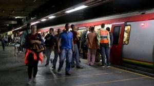 Metro de Caracas asegura que presta servicio comercial en todas sus líneas #25Ago