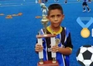 Cae otro de los implicados en el asesinato de Brayan, el niño futbolista que conmovió a Venezuela