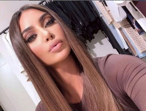 Así da los buenos días Kim Kardashian: Ojo a la foto