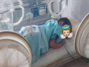 Encuentran a un bebé abandonado dentro de una bolsa en Barinas
