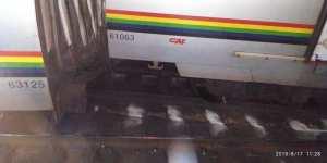 Ocho heridos en total deja el tren descarrilado del Metro de Caracas