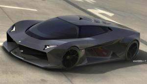 EN FOTOS: Así luciría el nuevo hiperdeportivo de Lamborghini