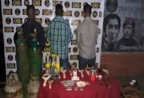 Detienen en Bolívar a tres personas por venta ilegal de oro en licorería