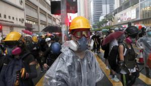 Protestas en Hong Kong: Policía dispara armas de fuego por primera vez