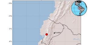 Sismo de magnitud 5,0 sacude este domingo a Ecuador