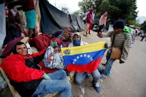 Venezolanos son asistidos en mega-jornada solidaria realizada en Ecuador