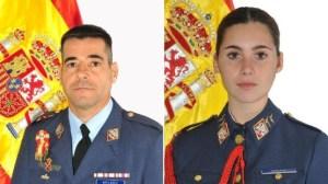 Dos muertos al precipitarse al mar un avión del ejército del aire español