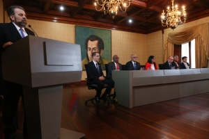 """Régimen de Nicolás Maduro y """"mini partidos"""" de oposición instalan Mesa de Diálogo Nacional (Comunicado)"""