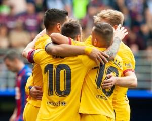 El tridente del Barça se deshizo del Eibar sin mucho esfuerzo