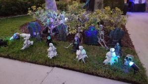 ¡De espanto! Así transcurre Halloween en la calle más terrorífica de Florida (Fotos + Video)