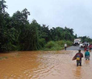 Así se encuentra el sur del estado Bolívar tras varias horas de lluvia #10Oct (FOTOS)