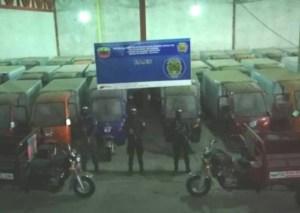 Presos dos hermanos árabes por presunto acaparamiento de 600 motos