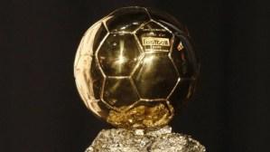 France Football revelará los candidatos al Balón de Oro