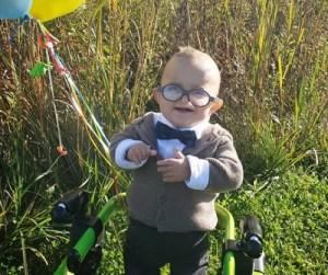 #LoMásTierno Bebé con parálisis cerebral celebra su primer Halloween