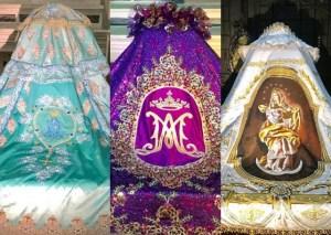 La Virgen de Chiquinquirá lucirá tres nuevos trajes este año (fotos)