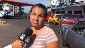 Denuncian reventa de gasolina en estaciones de Coro mientras conductores hacen colas por horas (VIDEO)