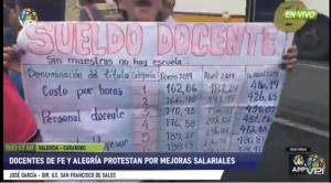 En Carabobo, los docentes de Fe y Alegría exigen mejores salarios #16Oct