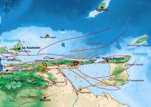 Reportan sismo de magnitud 4.5 en Güiria, estado Sucre