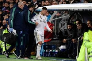 Hazard dice adiós al Clásico y Marcelo es duda por una lesión muscular