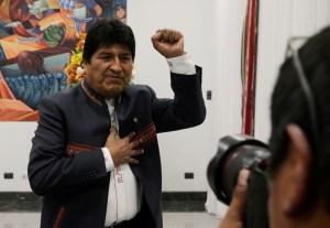 Así pasó Evo Morales su primera noche tras renunciar a la presidencia (FOTO)