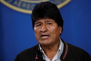 Evo Morales llama a los bolivianos a la calma y no caer en la violencia