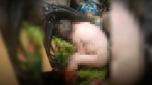 Detienen a mujer por botar a su bebé en la basura tras haber dado a luz