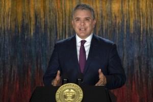 Duque insta a sus aliados a unir fuerzas para detener la dictadura de Maduro