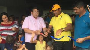 Julio Montoya inaugura comedor en la zona Aranza de Maracaibo