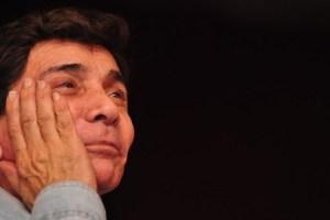 Murió actor Jaime Manzur en pleno escenario (Fotos)