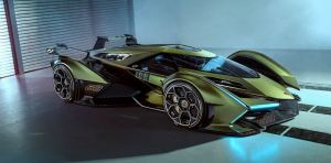 """Lamborghini presentó su nueva """"bestia"""" V12 GT para el videojuego de Playstation (Fotos y video)"""