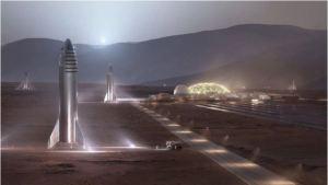 La Nasa ayuda a SpaceX a identificar dónde aterrizar en Marte