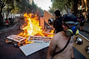 Congreso chileno aprueba polémica ley que sanciona violencia en manifestaciones