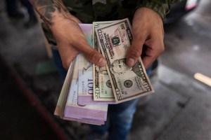 El valor total de los dólares en las calles de Venezuela ya superó al de los bolívares