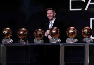 Lionel Messi conquistó su sexto Balón de Oro