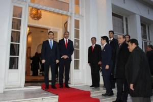 En reunión de Carlos Vecchio con Mario Abdo Benitez admiten aumentar presión en Venezuela